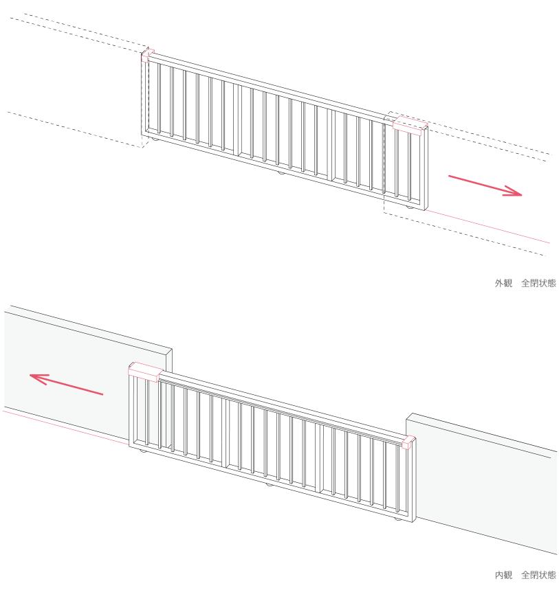 片引ゲート 安定器型